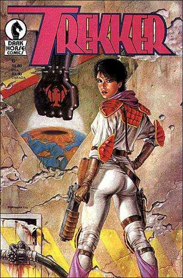 Trekker (1987) 6-A by Dark Horse