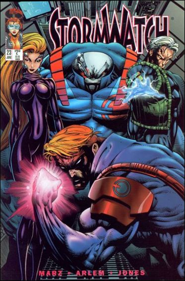 StormWatch (1993) 23-A by Image