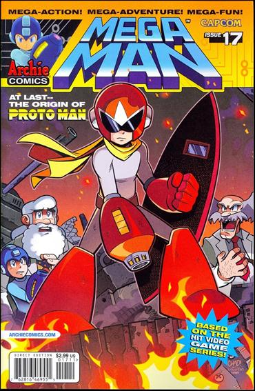 Mega Man 17-A by Archie