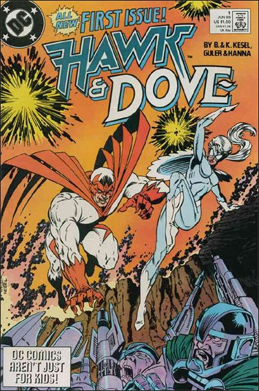 Hawk and Dove (1989) 1-A by DC