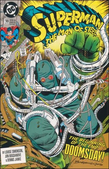 Superman: The Man of Steel 18-A by DC
