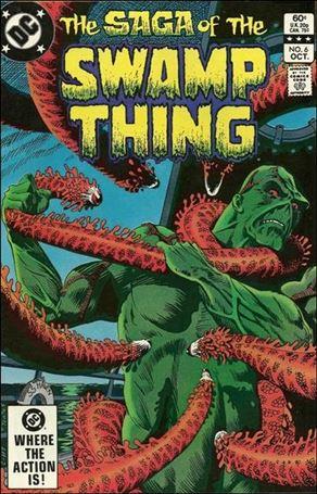 Saga of the Swamp Thing 6-A