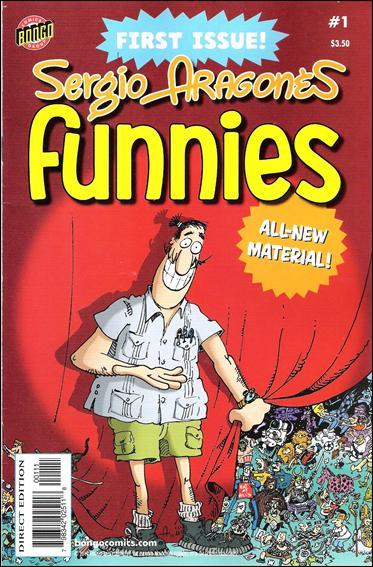 Sergio Aragones Funnies 1-A by Bongo