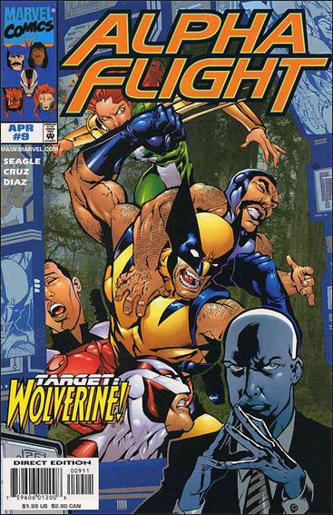 Alpha Flight (1997) 9-A by Marvel