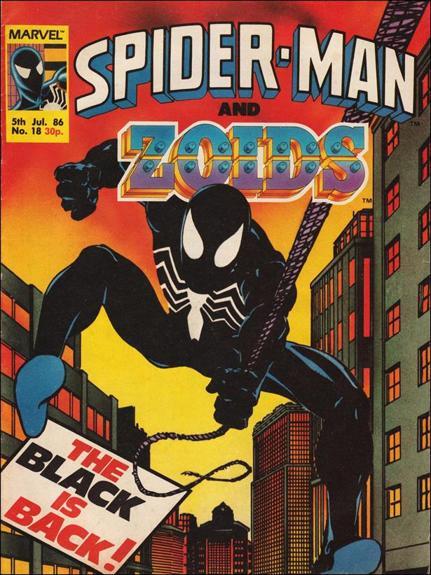 Spider-Man and Zoids (UK) 18-A by Marvel UK