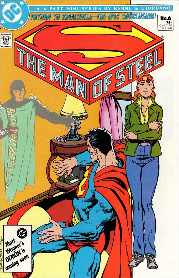 Man of Steel 6-A by DC