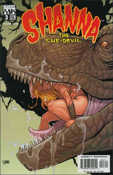 Shanna the She-Devil (2005) 3-A by Marvel