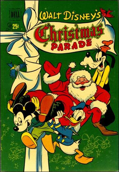 Walt Disney's Christmas Parade (1949) 2-A by Dell
