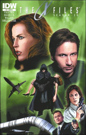 X-Files: Season 10 2-C by IDW