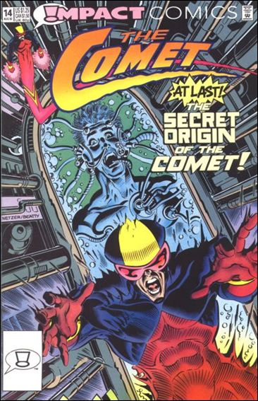 Comet (1991) 14-A by Impact Comics