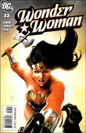 Wonder Woman (2006) 32-B
