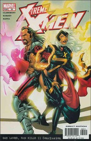 X-Treme X-Men (2001) 30-A