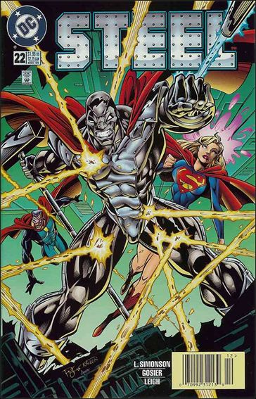 Steel (1994) 22-A by DC