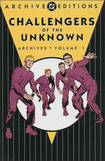 Challengers of the Unknown Archives 1-A by DC