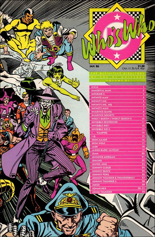Who's Who: The Definitive Directory of the DC Universe 11-A by DC