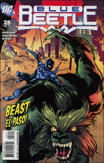 Blue Beetle (2006) 28-A by DC