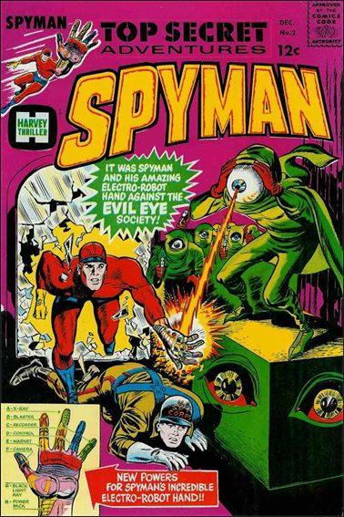 Spyman 2-A by Harvey