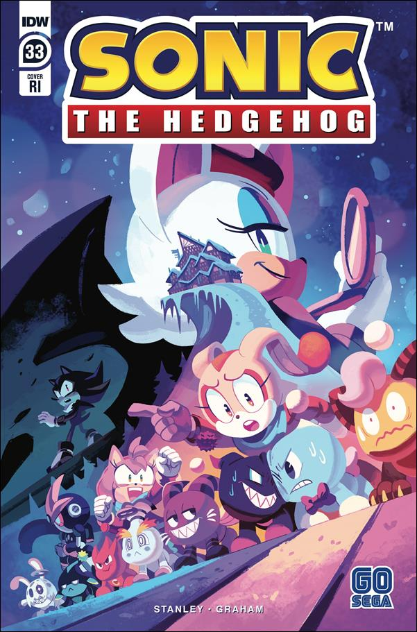 Sonic the Hedgehog (2018) 33-C by IDW