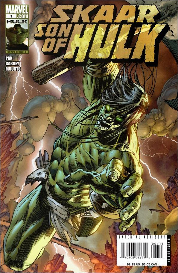 Skaar: Son of Hulk 1-A by Marvel