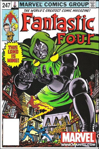 Fantastic Four (1961) 247-B by Marvel