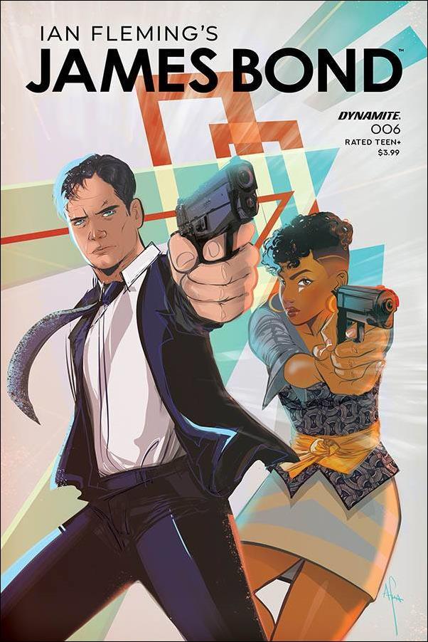 James Bond (2019) 6-A by Dynamite Entertainment