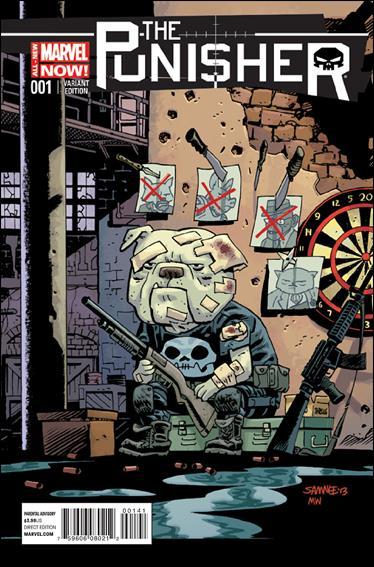 Punisher (2014) 1-C by Marvel