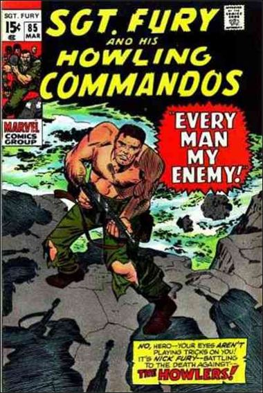 Sgt. Fury and His Howling Commandos 85-A by Marvel