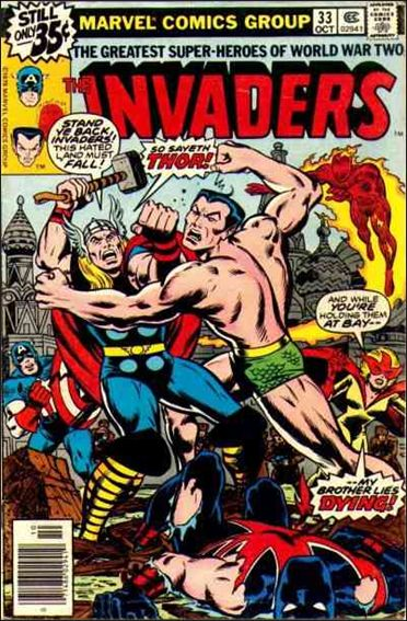 Invaders (1975) 33-A by Marvel
