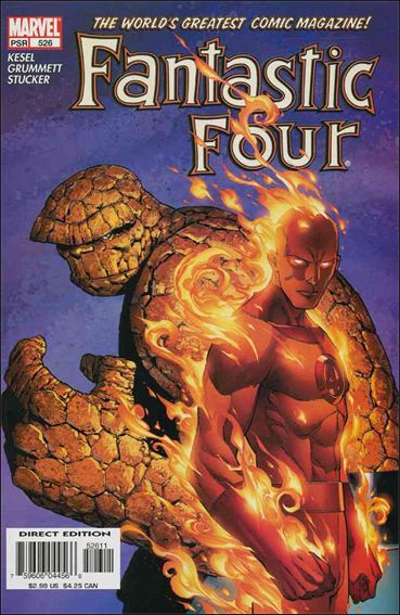 Fantastic Four (1961) 526-A by Marvel