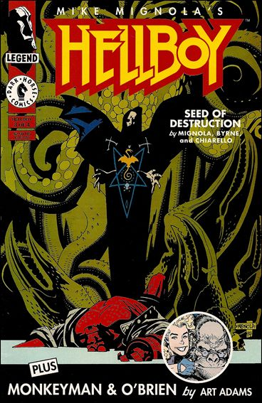 Hellboy: Seed of Destruction 3-A by Dark Horse