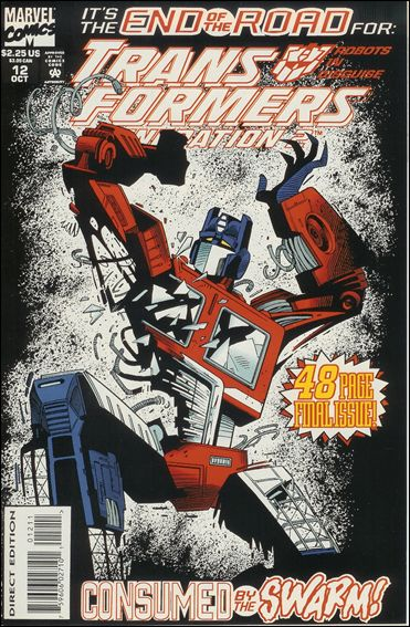 Transformers: Generation 2 (1993) 12-A by Marvel
