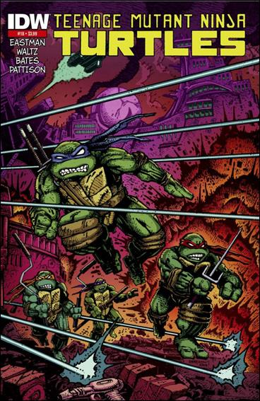 Teenage Mutant Ninja Turtles (2011) 18-E by IDW