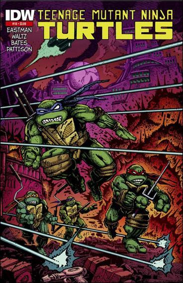 Teenage Mutant Ninja Turtles (2011) 18-E by IDW