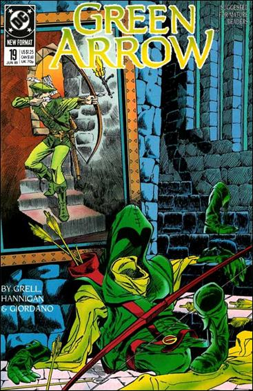 Green Arrow (1988) 19-A by DC