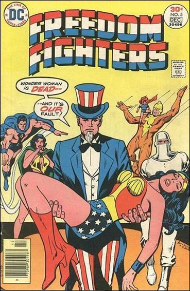 Freedom Fighters (1976) 5-A by DC