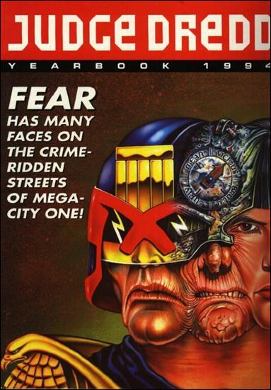 Judge Dredd Yearbook 1994-A by Fleetway
