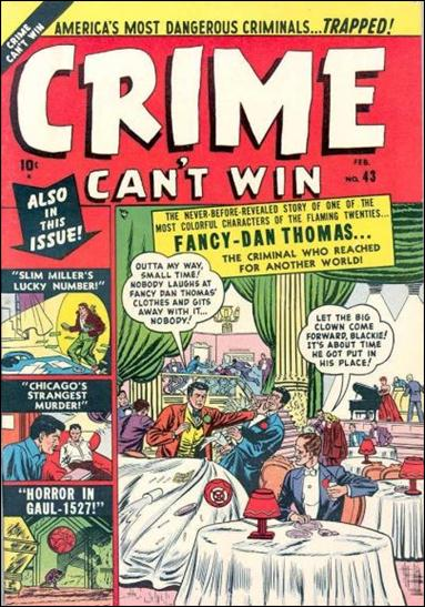 Crime Can't Win 3-A by Marvel