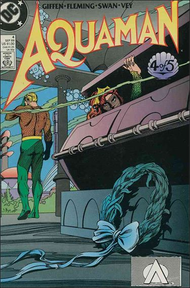 Aquaman (1989) 4-A by DC