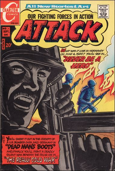 Attack (1971) 1-A by Charlton