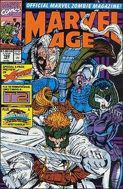 Marvel Age 102-A by Marvel