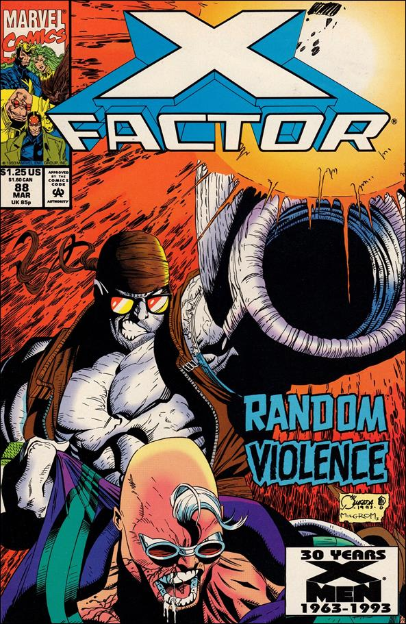 X-Factor (1986) 88-A by Marvel