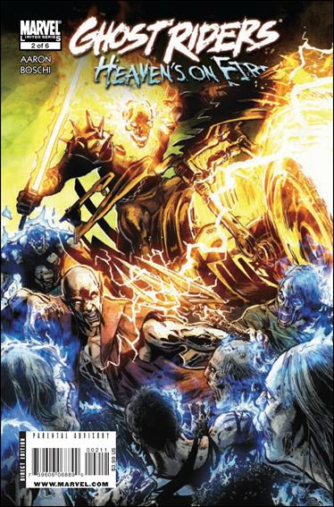 Ghost Riders: Heaven's On Fire 2-A by Marvel