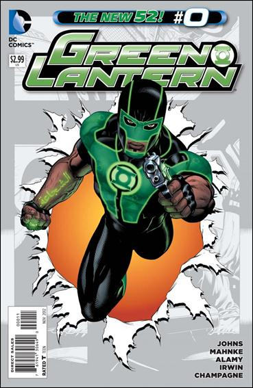 Green Lantern (2011) 0-A by DC