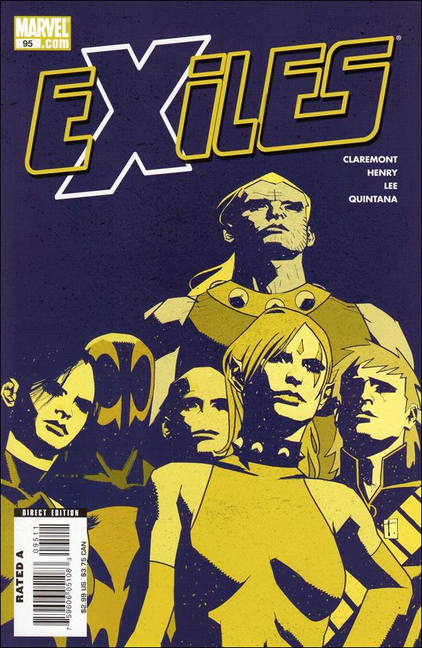 Exiles (2001) 95-A by Marvel
