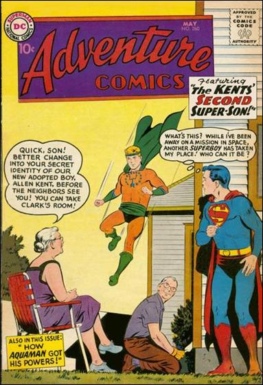 Adventure Comics (1938) 260-A by DC