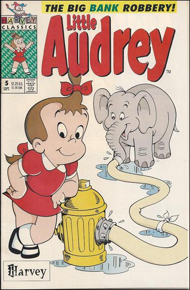 Little Audrey (1992) 5-A by Harvey
