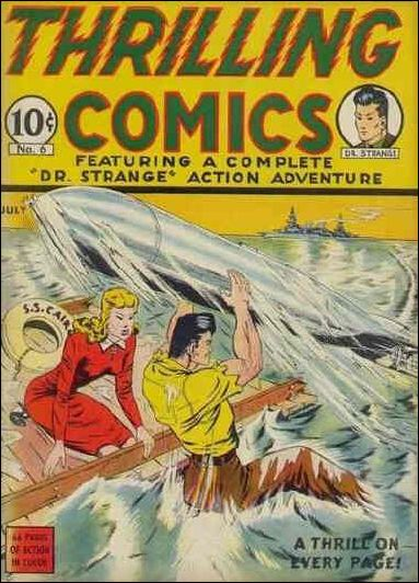 Thrilling Comics (1940) 6-A by Standard