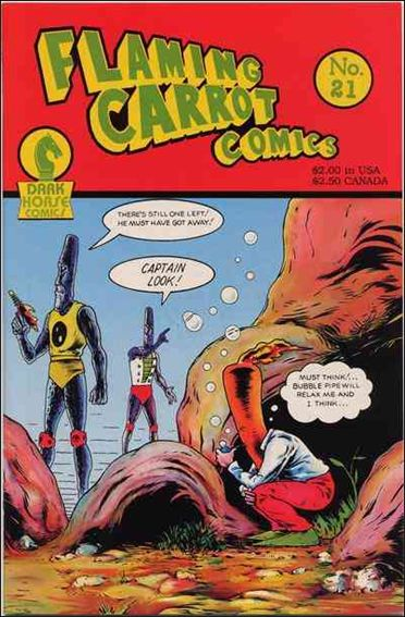 Flaming Carrot Comics (1984) 21-A by Dark Horse