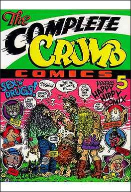 Complete Crumb Comics 5-A by Fantagraphics