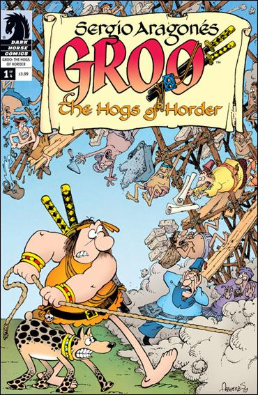 Sergio Aragones' Groo: The Hogs of Horder 1-A by Dark Horse